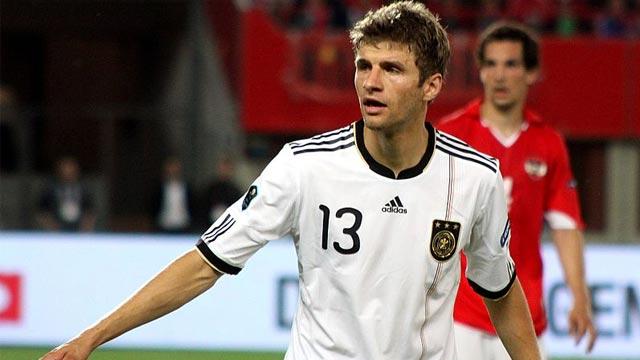 Thomas Müller tritt dem 100er-Klub bei